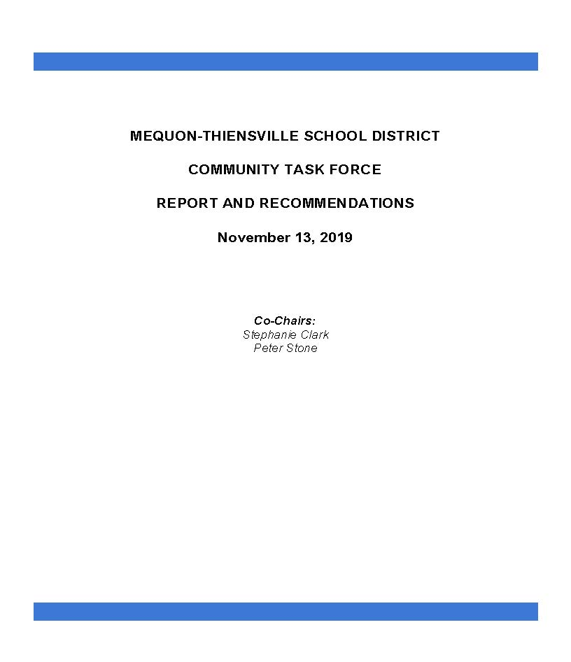Task Force Final Report