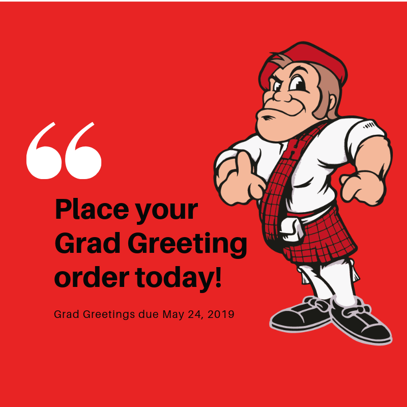 Place Your Grad Greeting Order Today!