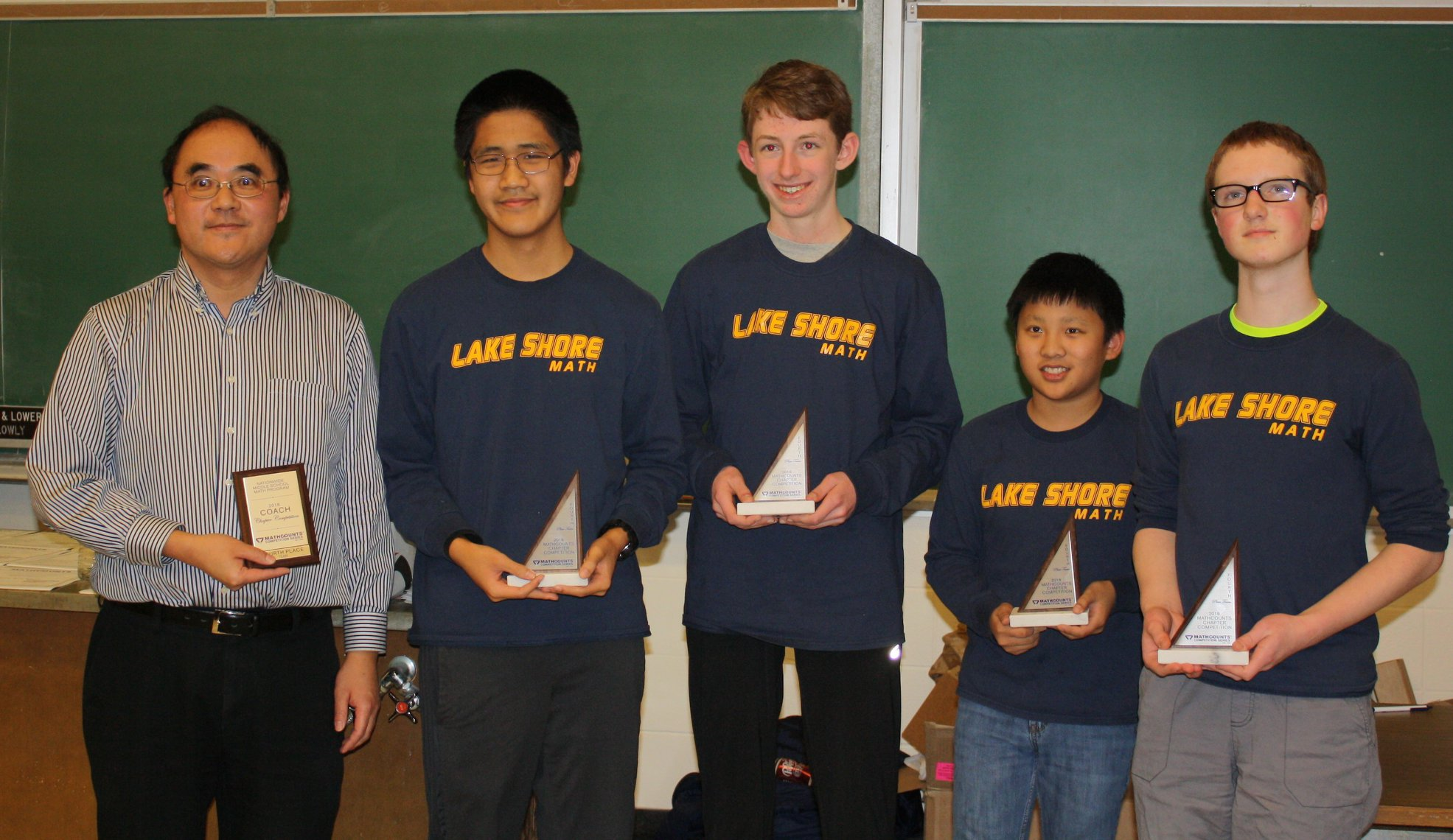 Mathcounts Competes in Regional Competition
