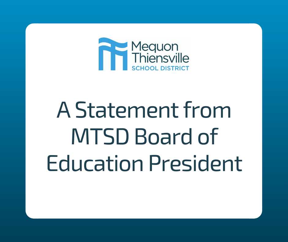 A Statement from the Board of Education President
