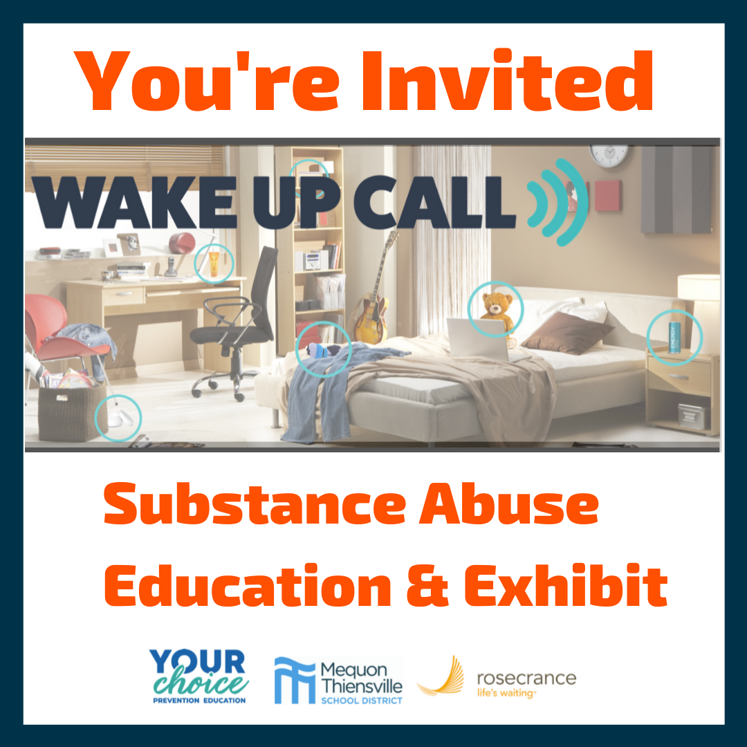You're Invited: Wake Up Call - Substance Abuse Education Event