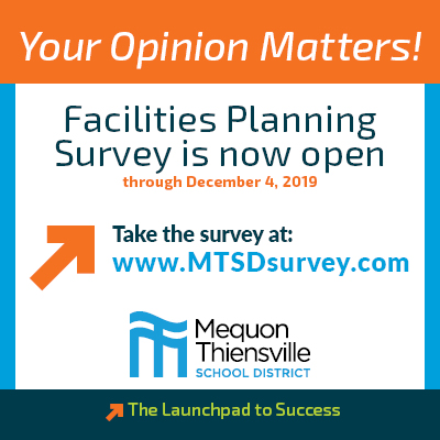 Your Opinion Matters! Facilities Planning Survey Now Open