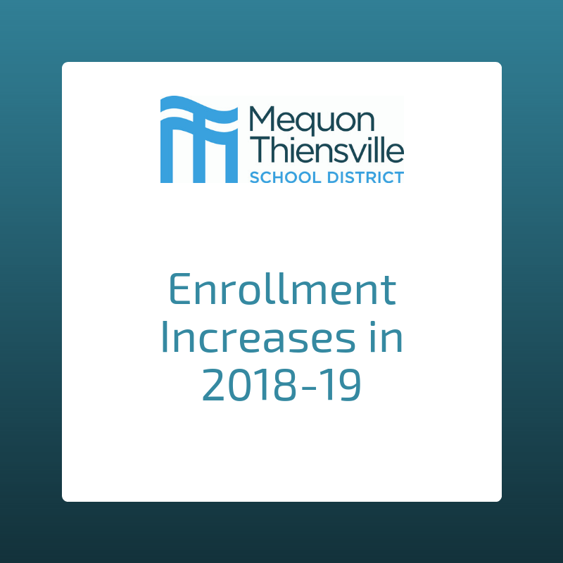 District Enrollment Increases