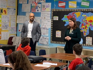 Lieutenant Governor and Secretary of Wisconsin Department of Financial Institutions Visit MTSD Schools