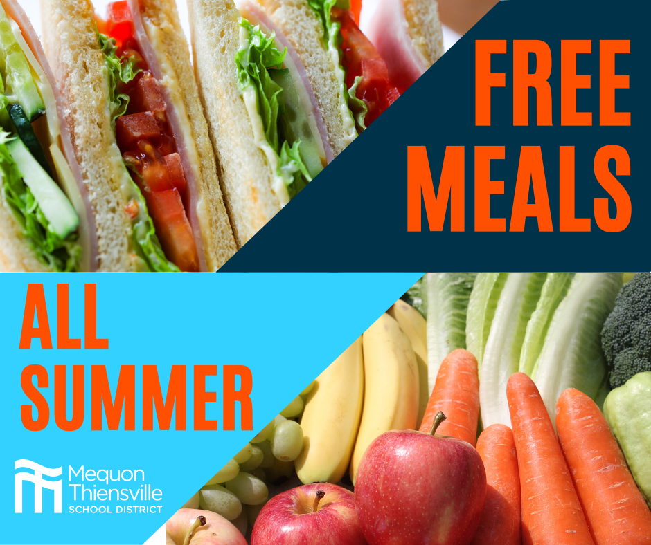 MTSD to Make Student Meals Available Through Summer