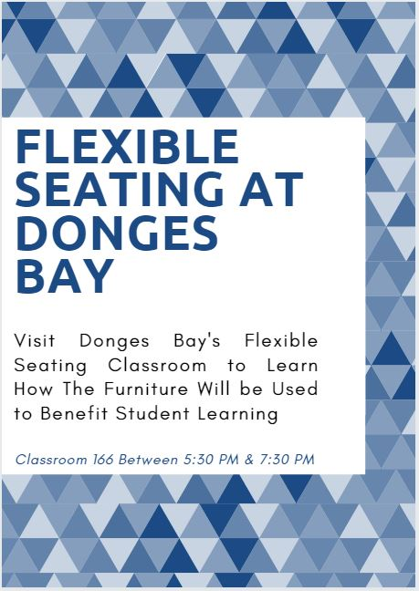 Flexible Seating at Donges Bay