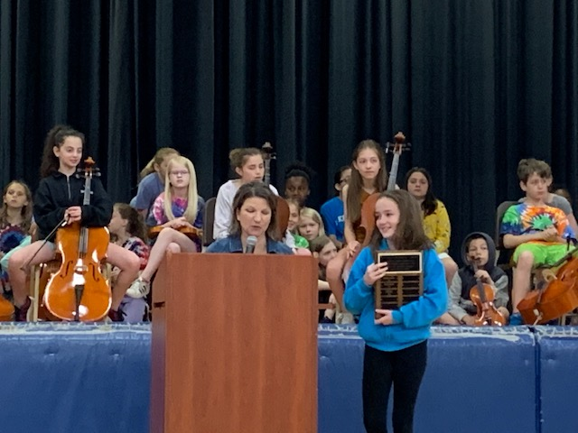 5th grader Lilly Dyer Recognized for Compassion and Inclusion