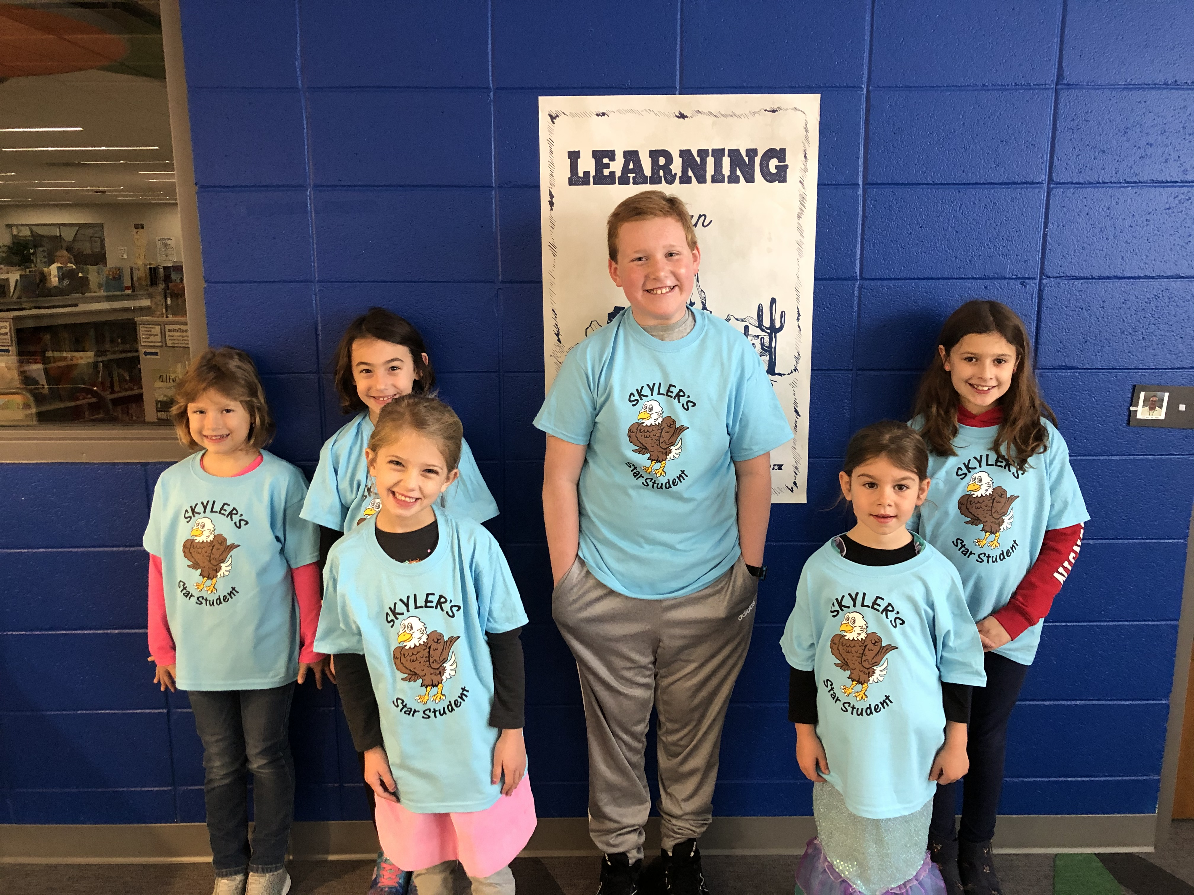 Skyler's October Star Students: Responsibility