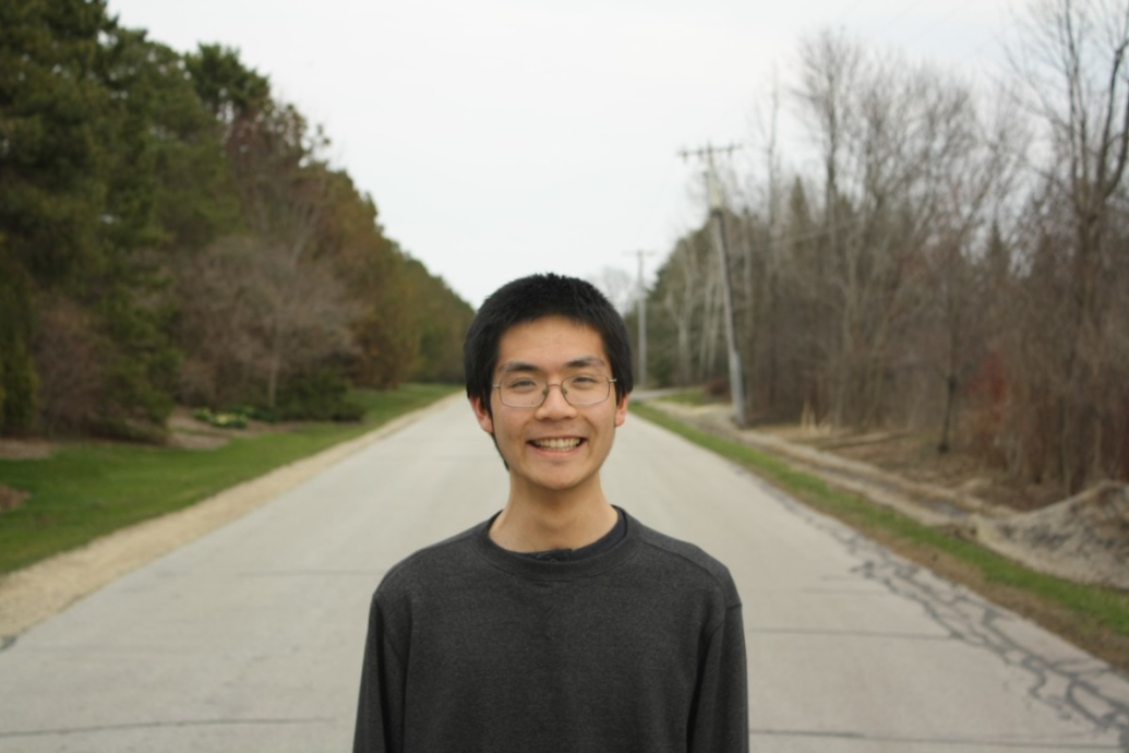 Senior Andrew Wang - Herb Kohl Foundation Student Excellence Scholarship Recipient