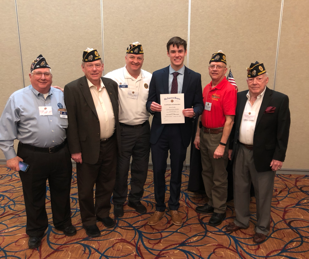Bradley Excels in American Legion Oratorical Competitions