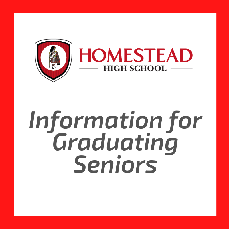 Information for Graduating Seniors