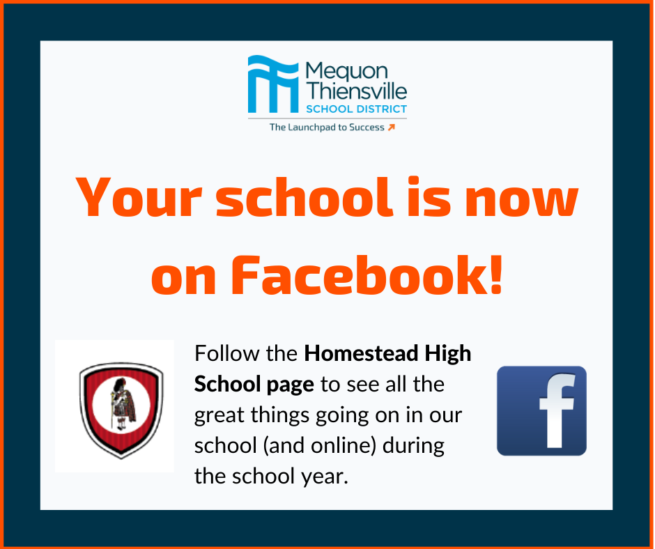 Follow Homestead on Facebook!