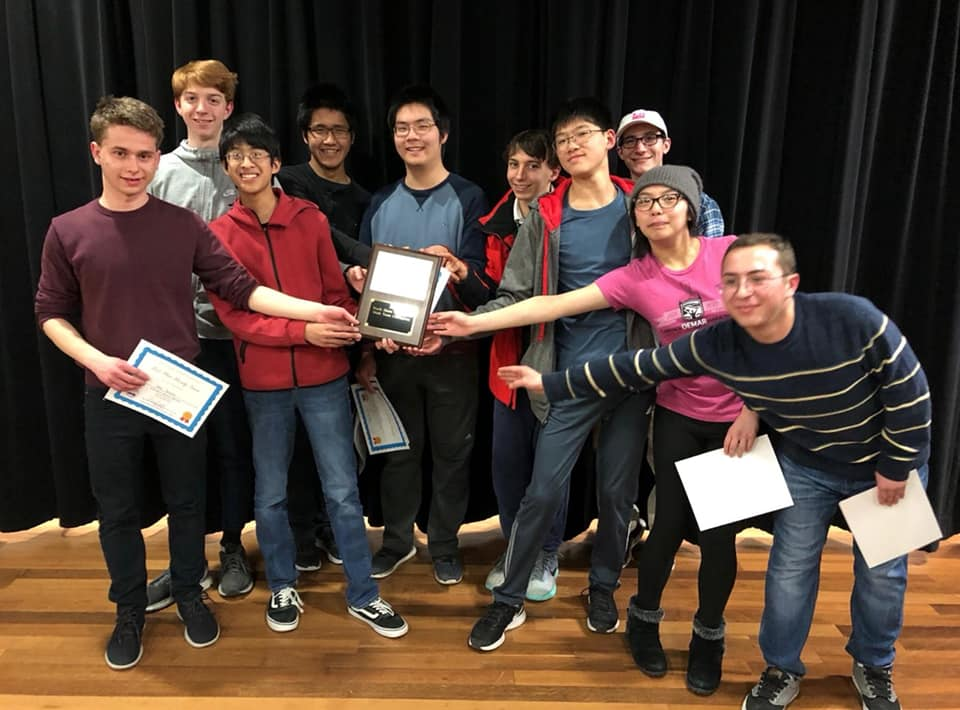 Math Team Wins NS Conference Meet