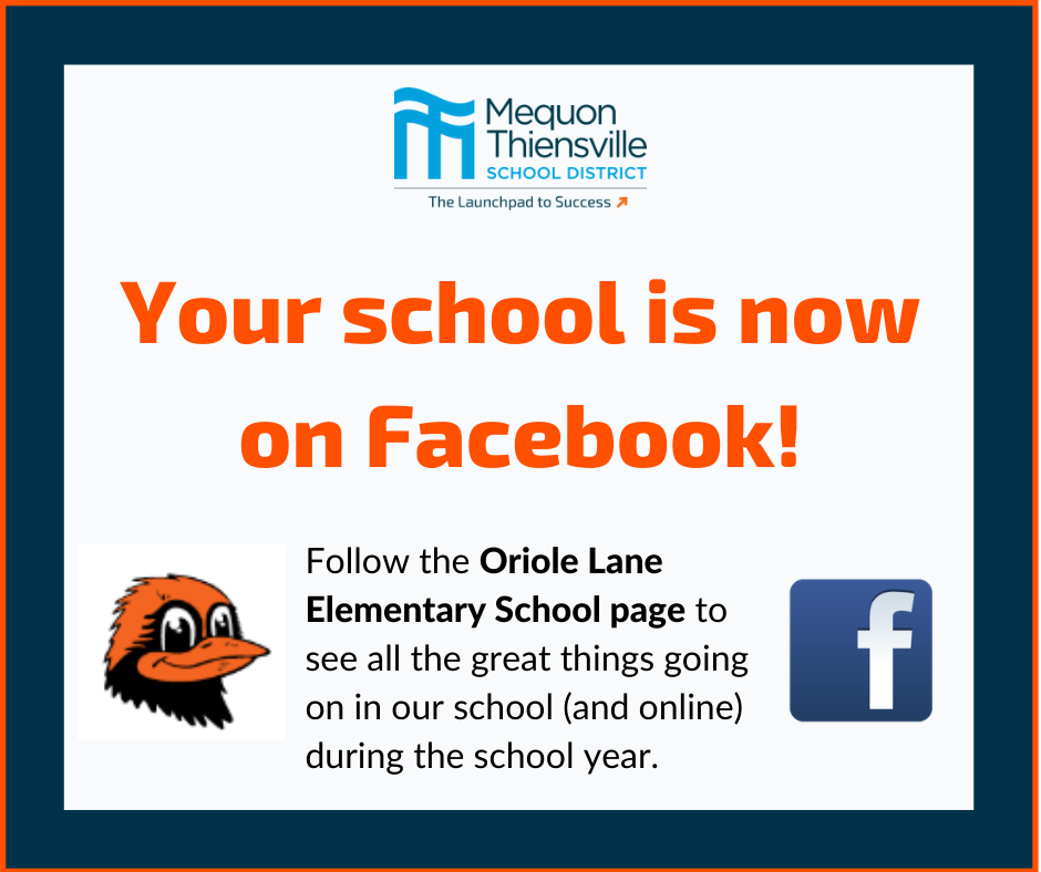 Follow Oriole Lane on Facebook!
