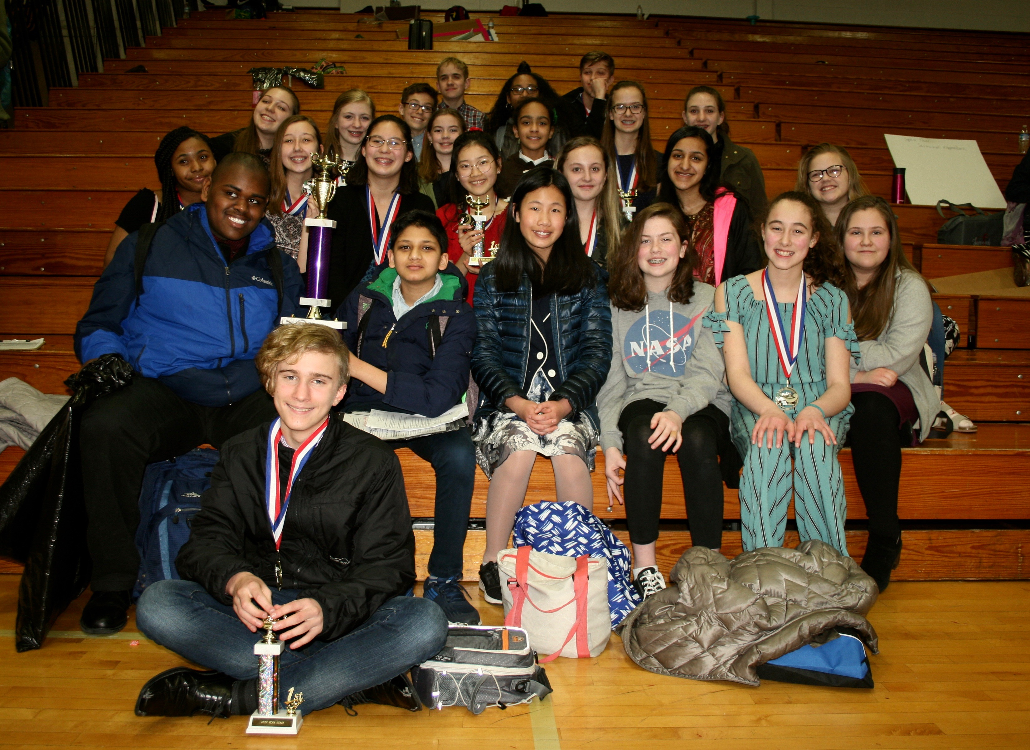 Steffen's Forensics Team Finishes Strong at State