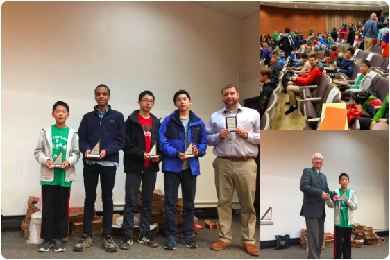 Steffen Mathematicians Succeed in Mathcounts Competition