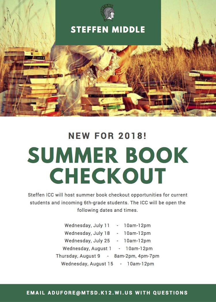 ICC Summer Book Checkout