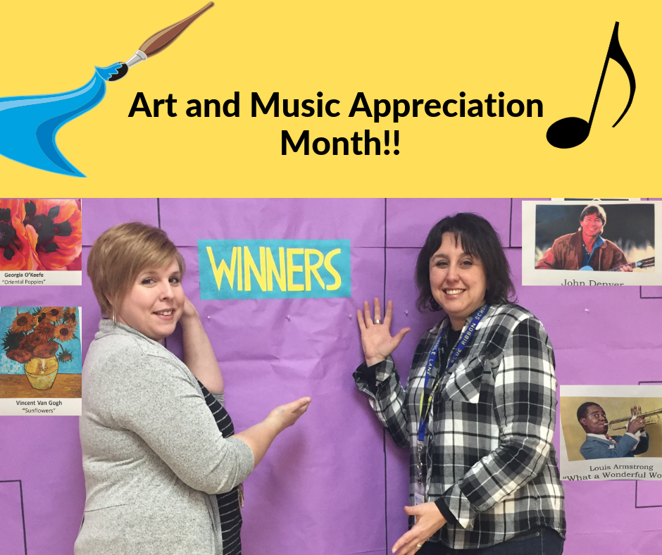 Oriole Lane Celebrates Art and Music in Our Schools Month