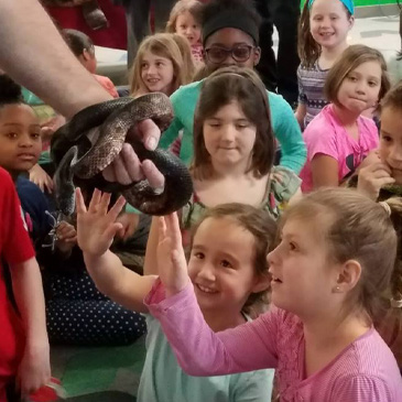 Wilson Students Get Up Close With Reptiles