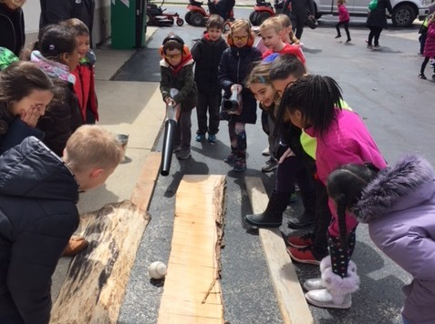 First Graders Explore the Mequon-Thiensville Community